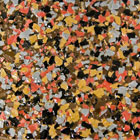 Terrazzo color for polyaspartic, epoxy or modified acrylic coatings