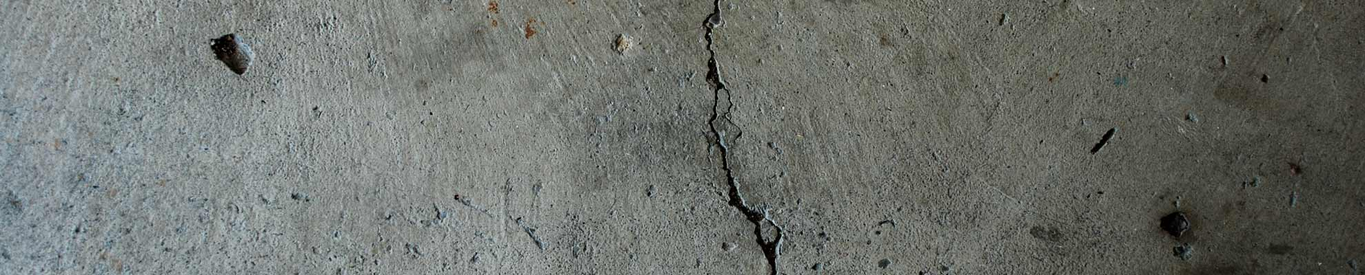 Concrete Crack Before Repair